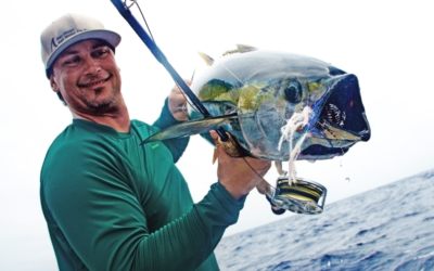 Fly Fishing for Yellow Fin Tuna