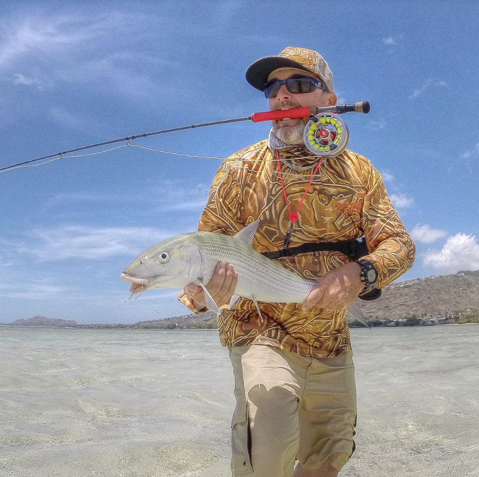 Fly fishing hawaii tail fly fishing magazine living in hawaii we are blessed with fishable conditions year round and my home island of oahu has some world class bonefish flats geenschuldenfo Images