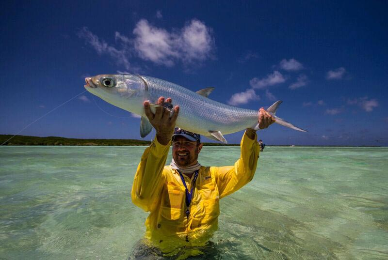Milkfish on the fly saltwater fly fishing tail fly for Saltwater fly fishing magazine