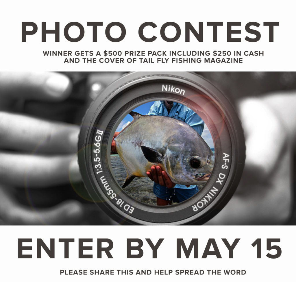 saltwater fly fishing magazine - tail fly fishing magazine - photo contest
