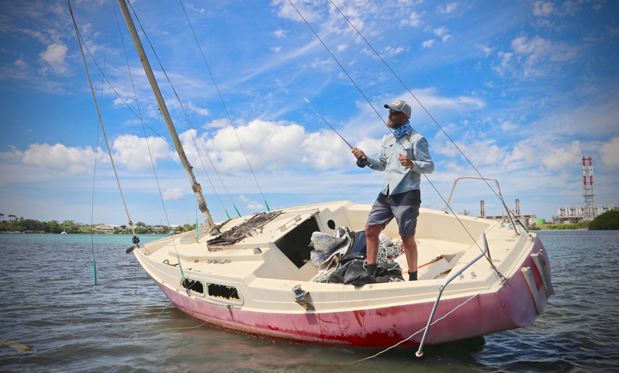 Guadeloupe by broke and fly tail fly fishing magazine for Saltwater fly fishing magazine