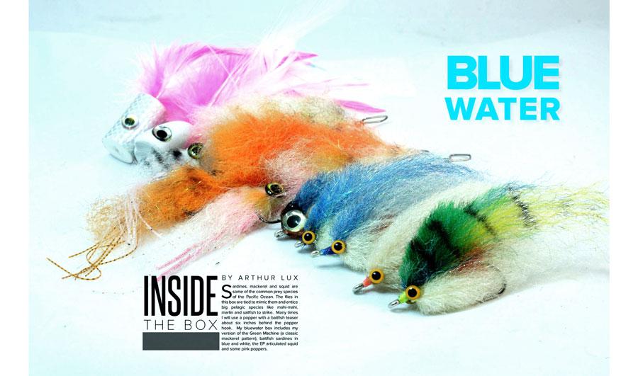 bluewater flies - fly fishing in saltwater - saltwater flies