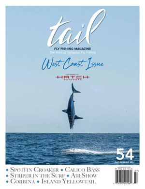 saltwater fly fishing - west coast